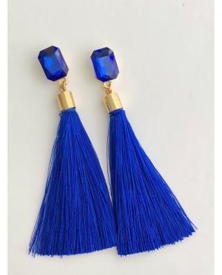 Kokodol.com - Pendientes Roma Azul Klein