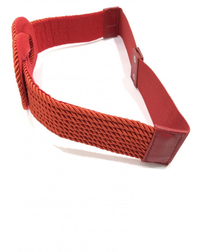 Kokodol.com - Cinturón Nudo Cuerdas - Rojo