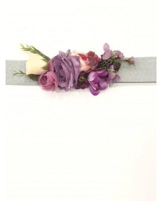 Kokodol.com - Cinturon Flores Nagore - lila