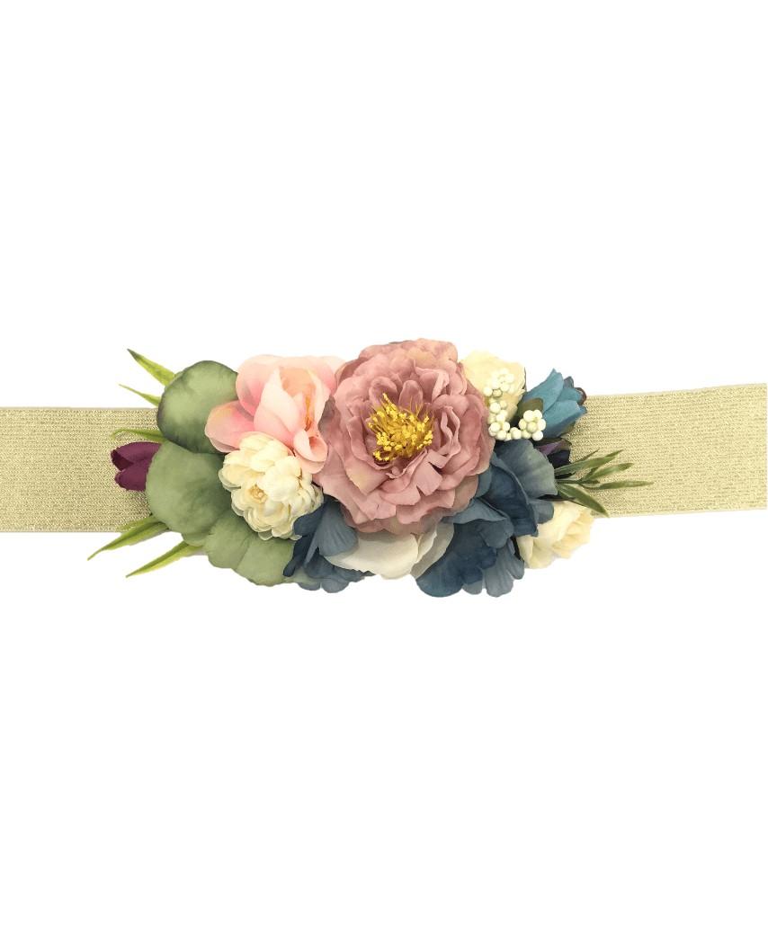 Kokodol.com Cinturón Flores Victoria - rosa