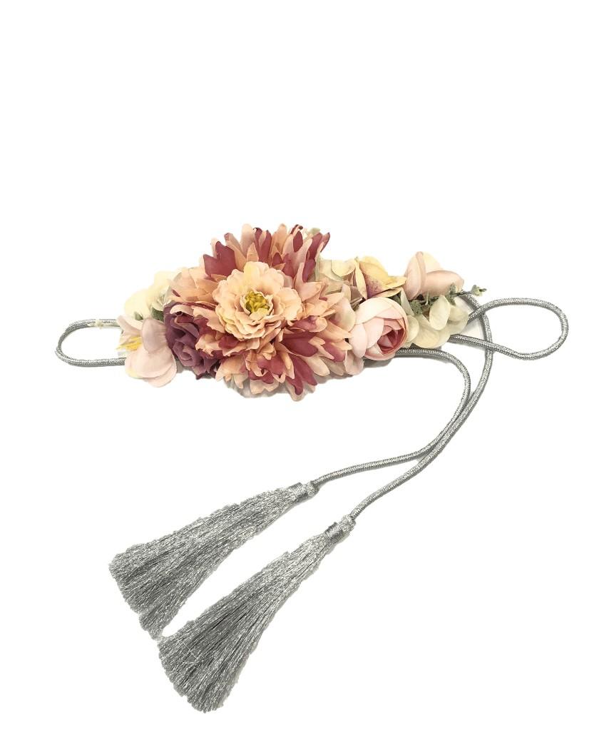 Cinturón Flores Margarita - rosa