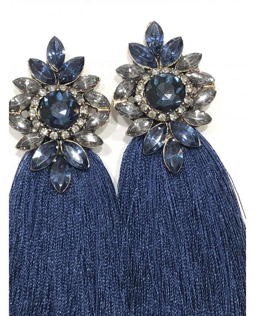 Kokodol.com - Pendientes Indira - azul