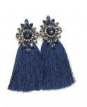 Pendientes Indira - azul