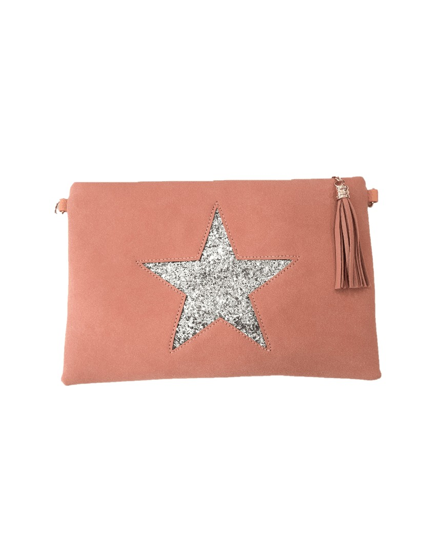 Kokodol.com - Bolso mano / bandolera Estrella - rosa