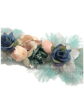Kokodol.com - Cinturón Flores Plumas Armony