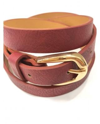 Kokodol.com - Cinturón Básico Burdeos