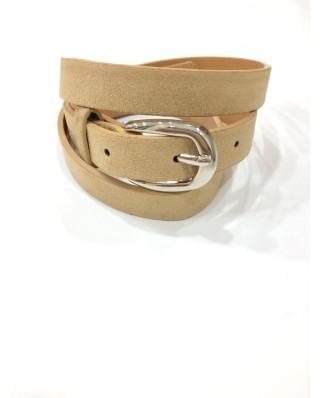 kokodol.com - Cinturón Básico Ante beig