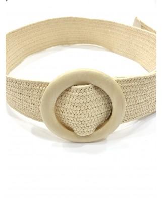 kokodol.com - Cinturón Mimbre Elástico beig