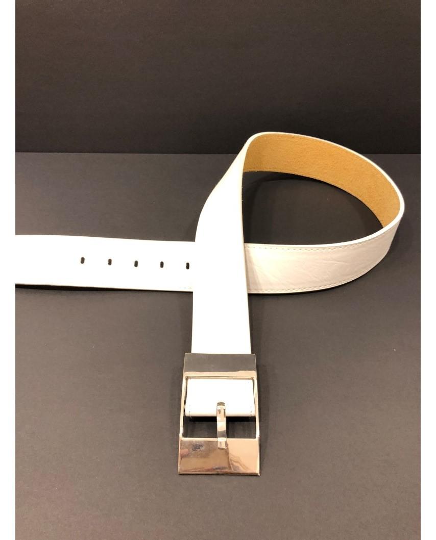 Cinturón Adda blanco