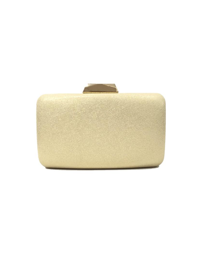 kokodol.com - Clutch Brillo Cloe dorado
