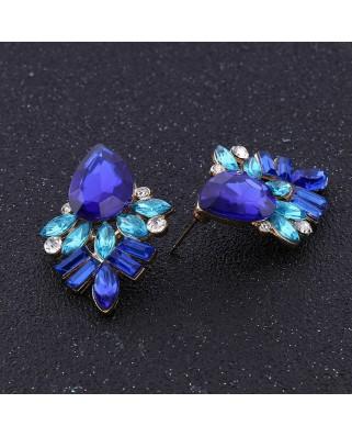 kokodol.com - Pendientes Pedreria Alice azul