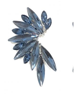 kokodol.com - Pendientes Flora azul