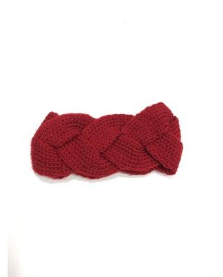 kokodol.com - Turbante Trenzado rojo