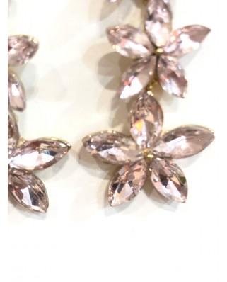 kokodol.com - Pendientes Flory rosa
