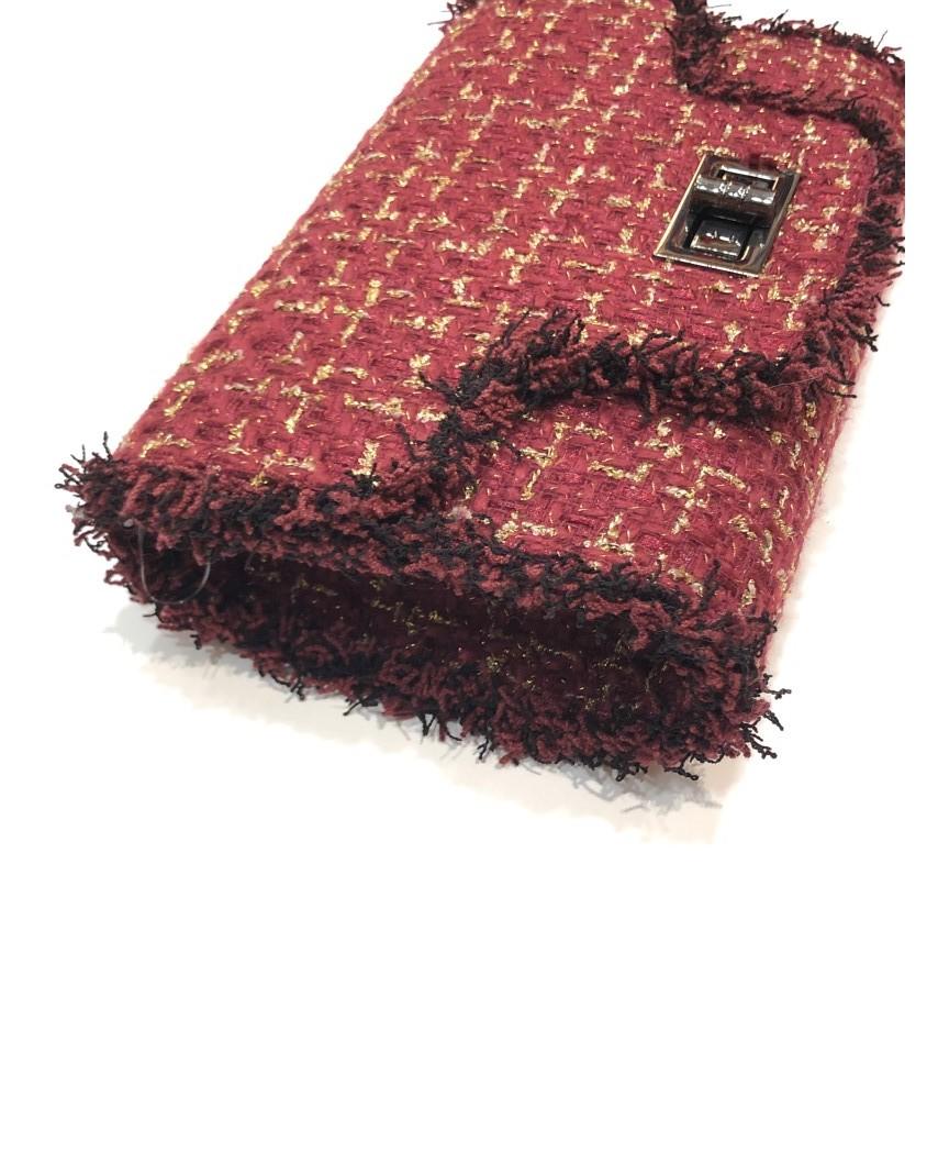 kokokol.com - Bolso Tweed burdeos