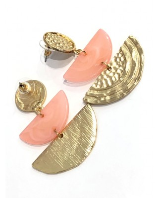 kokodol.com - Pendientes Xenia rosa