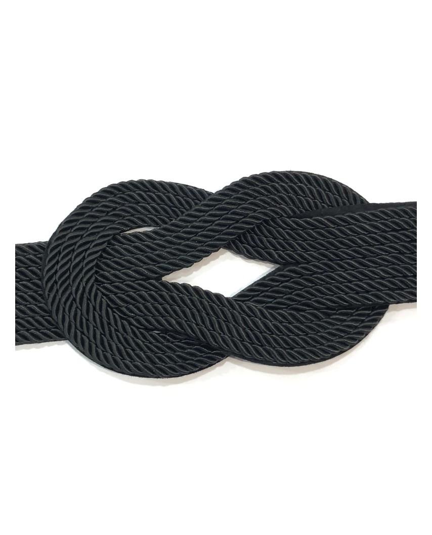 kokodol.com - Cinturón Nudo Cuerdas negro