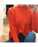 Jersey Liso Fluor naranja