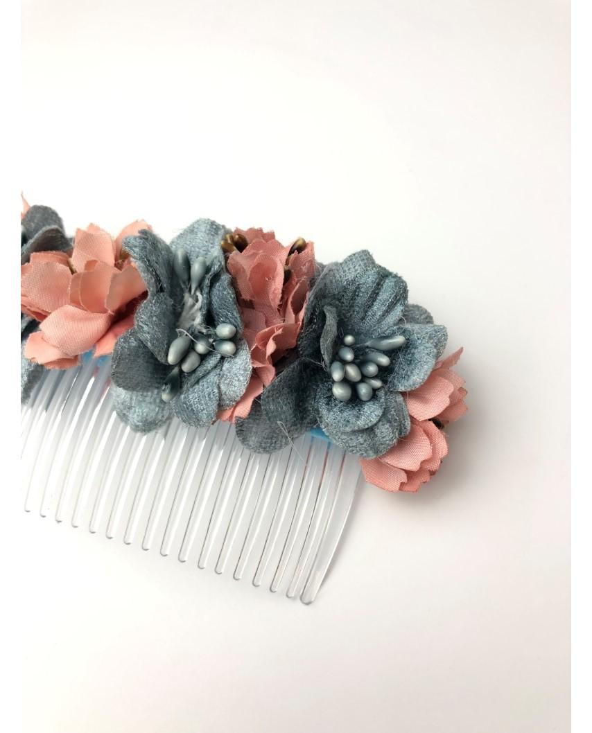 kokodol.com - Tocado Flores Hudson azul