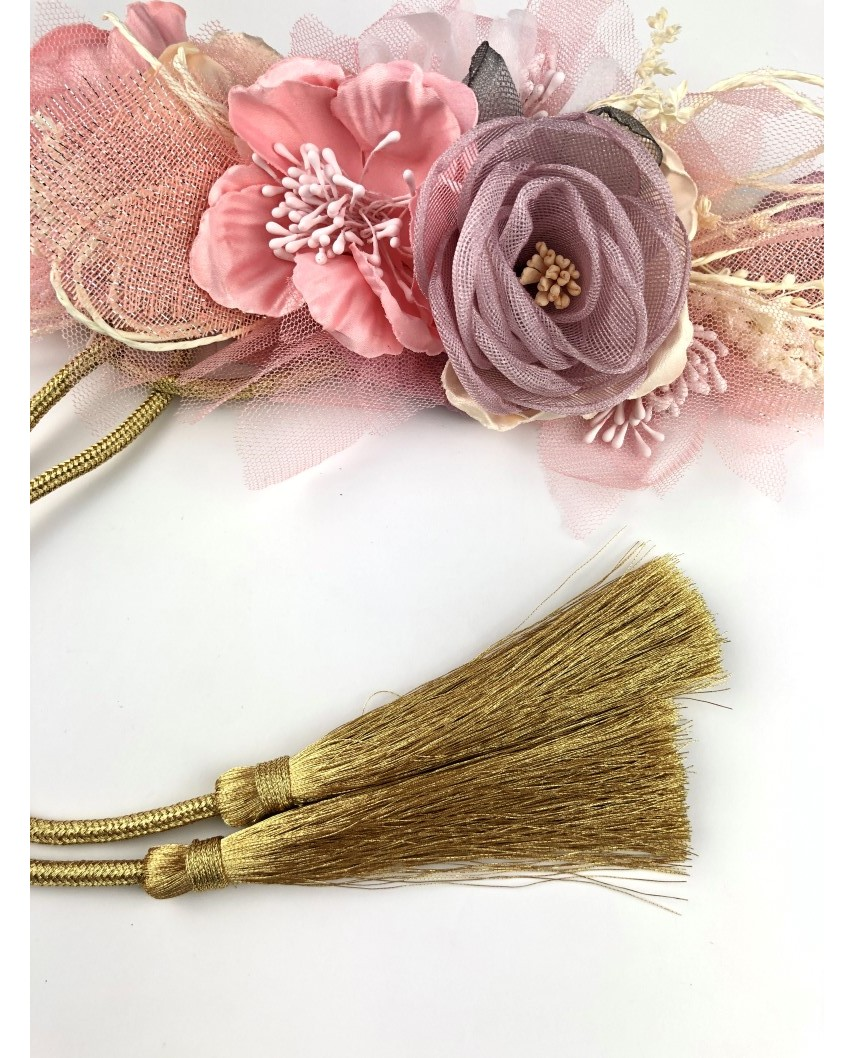 kokodol.com - Cinturón flores BELUCHI nude