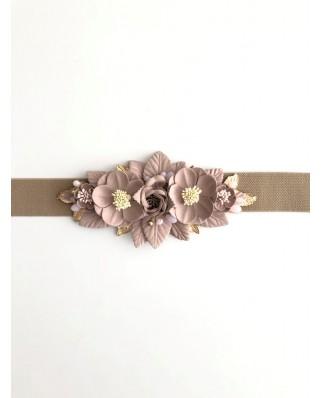 Kokodol.com - Cinturón Flores Nude