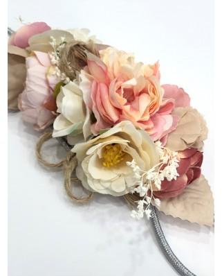 kokodol.com - Cinturón Flores Cordón Atlantic rosa