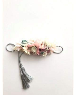 kokodol.com - Cinturón Flores Cordón Indian rosa