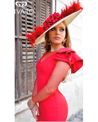 kokodol.com - Vestido Toscana rojo