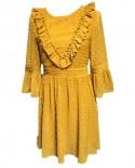 Vestido Plumeti Mostaza