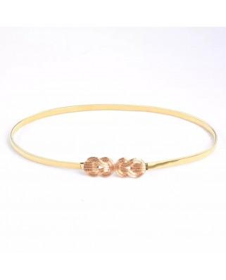 kokodol.com - Cinturón Elastico Eight dorado