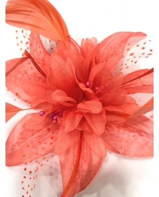 kokodol.com - Tocado Flor coral