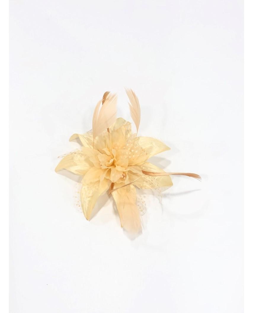 kokodol.com - Tocado Flor Champan