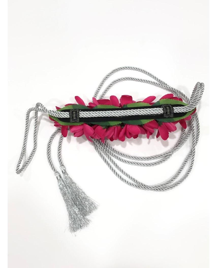 kokodol.com - Cinturón Flores Cordón Giorgia buganvilla