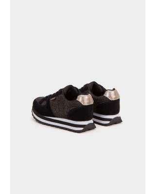 Sneakers Brillo Cleopatra negro