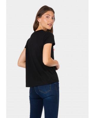 kokodol.com - Camiseta Patris negro