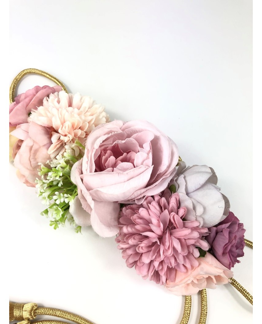 kokodol.com - Cinturón Flores Cordón Nicky malva