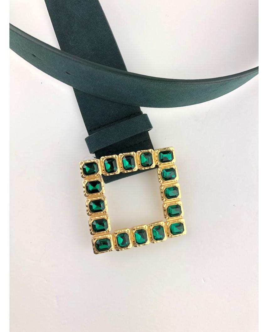 kokodol.com - Cinturón Ante Xiana verde