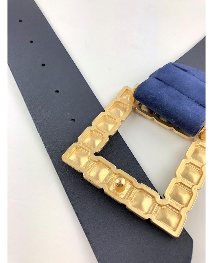 kokodol.com - Cinturón Ante Xiana azul