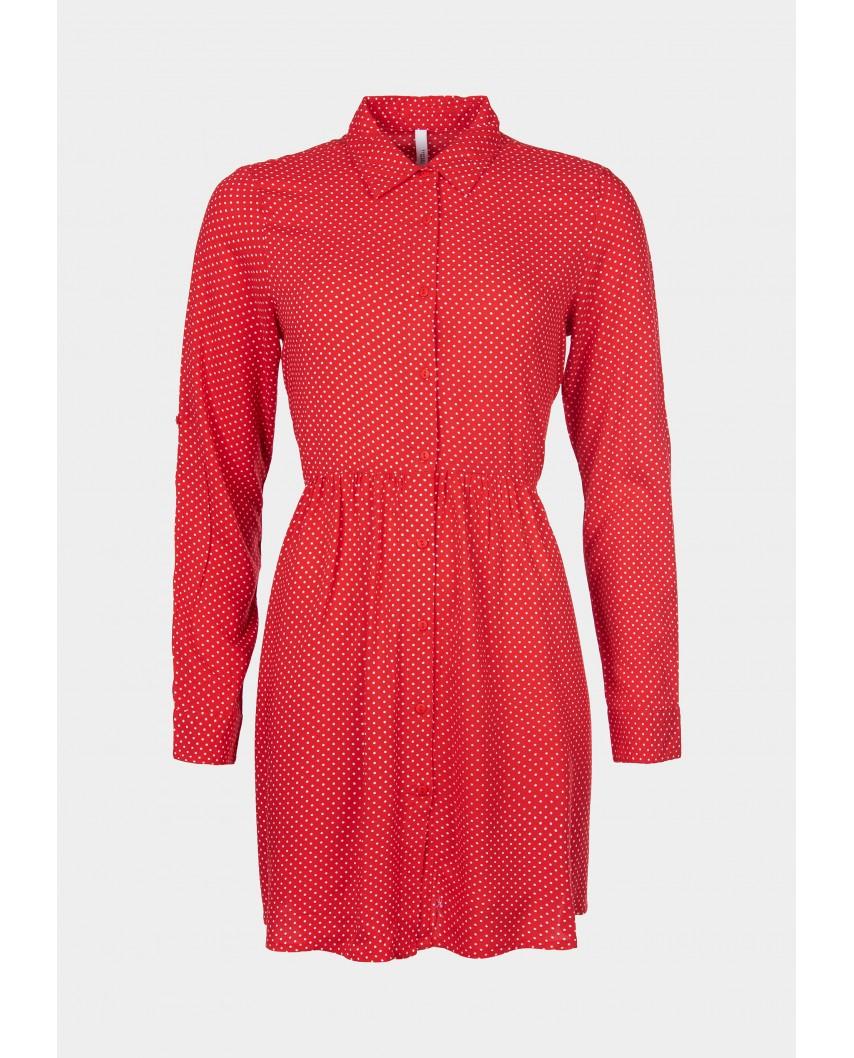 kokodol.com - Vestido Babilonia rojo