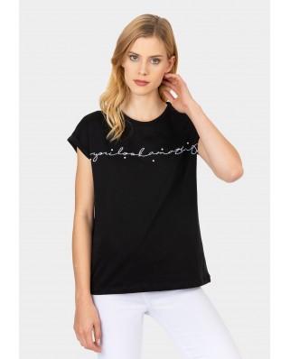 Camiseta Carly negro