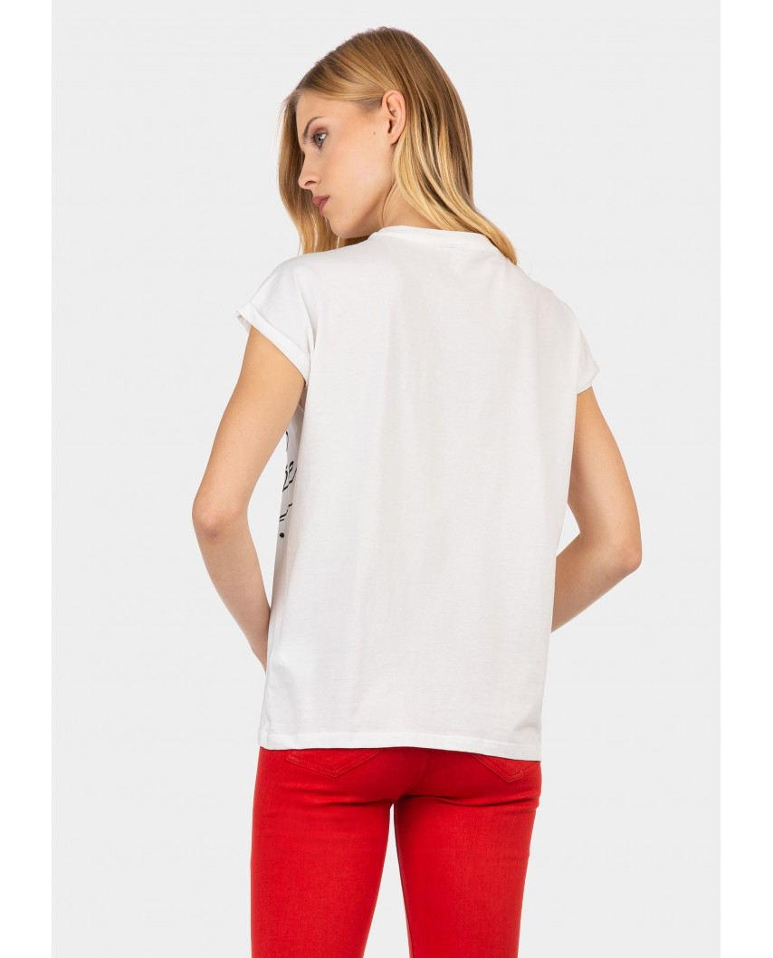 kokodol.com - Camiseta Carly blanco