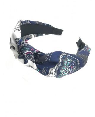 kokodol.com - Diadema Estampada Missandei azul