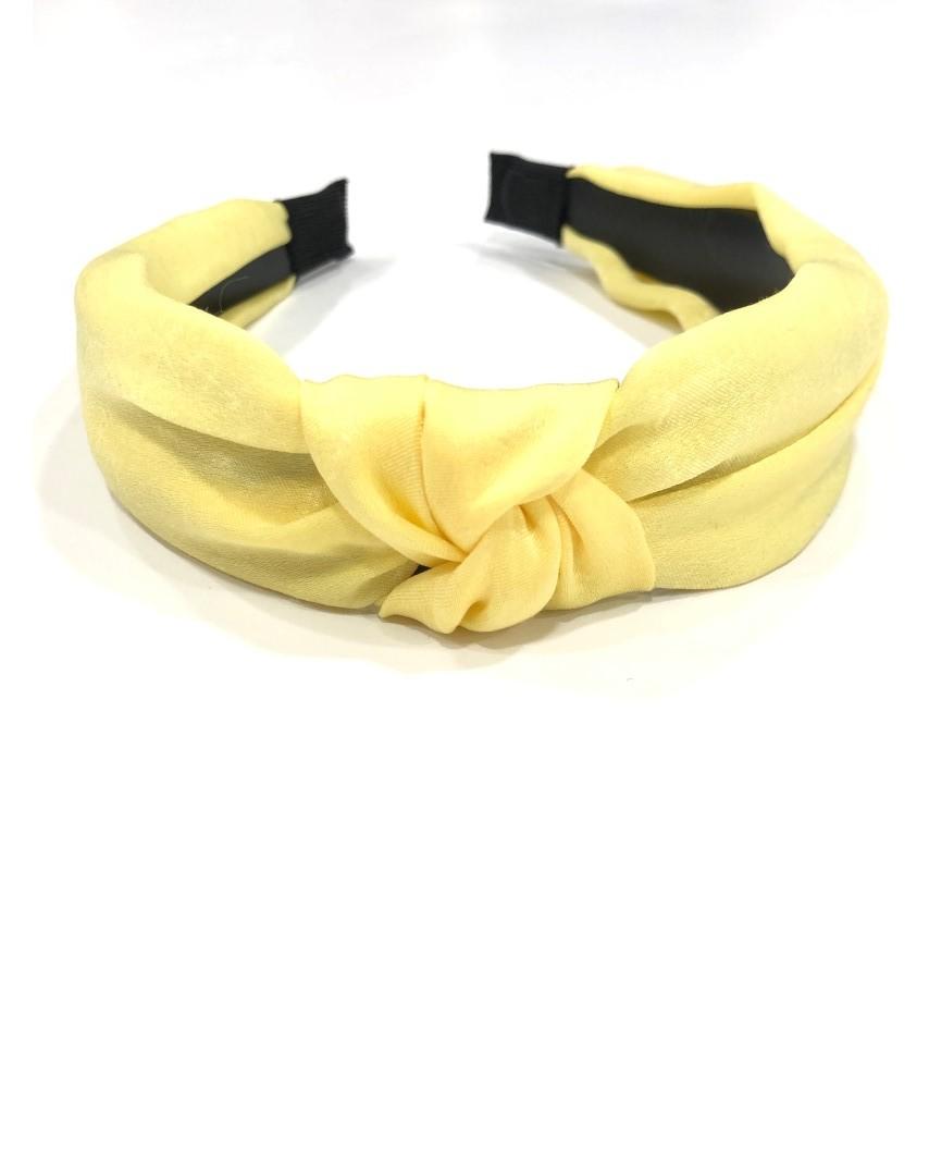 kokodol.com - Diadema raso Shae amarillo