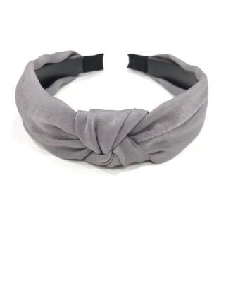 kokodol.com - Diadema raso Shae gris