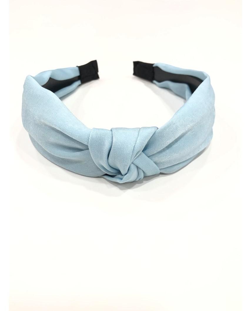 kokodol.com - Diadema raso Shae azul claro