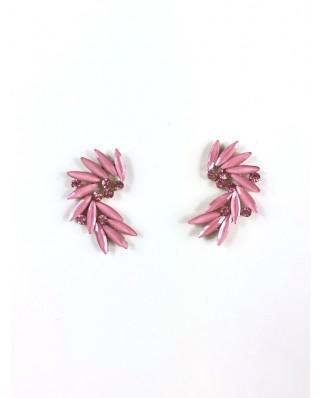 kokodol.com - Pendientes Florina rosa