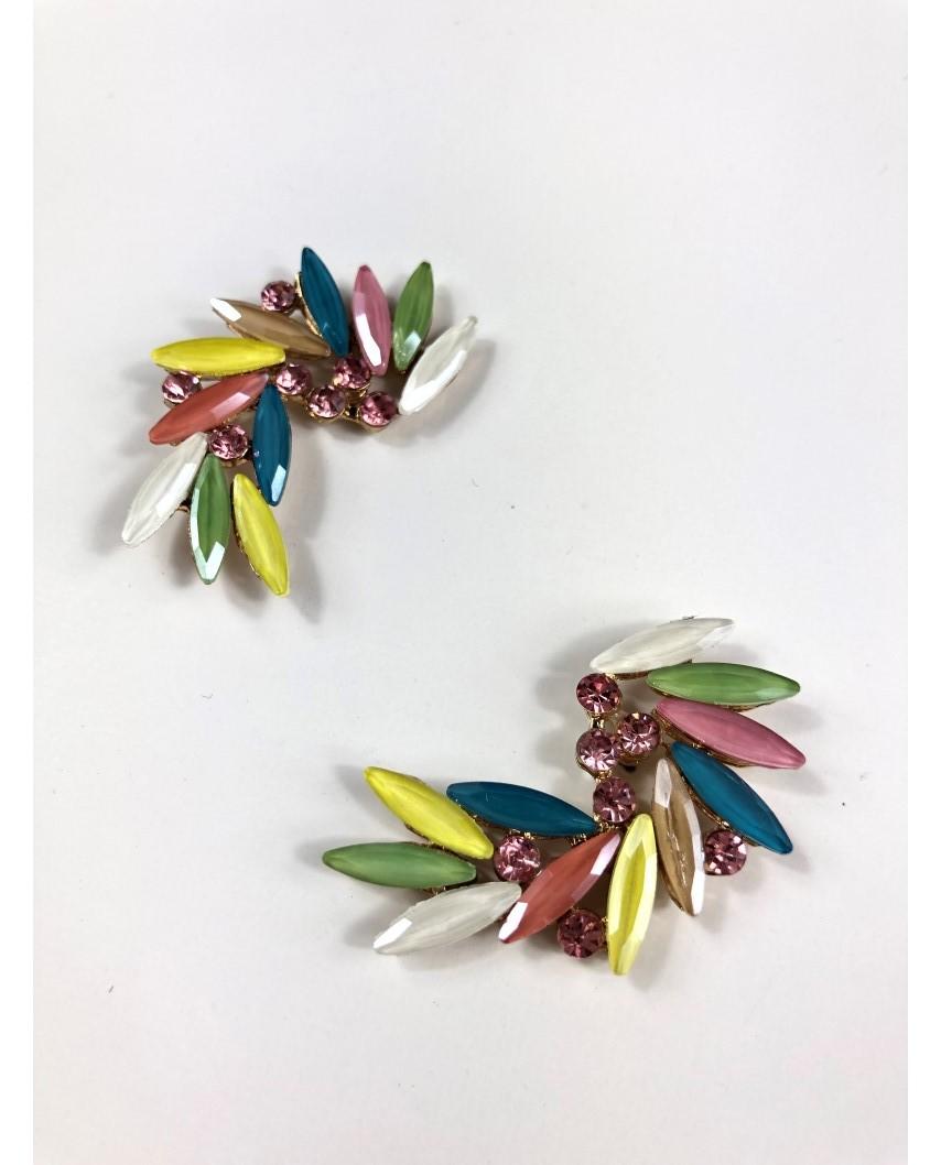 kokodol.com - Pendientes Florina multicolor