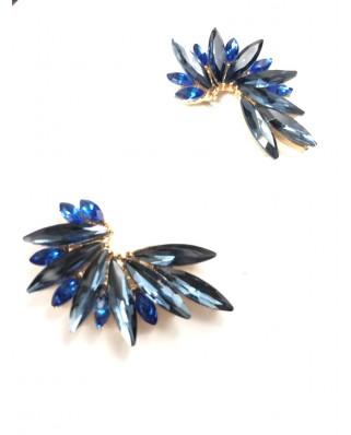 kokodol.com - Pendientes Flora azul mix