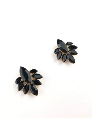 kokodol.com - Botón Flor negro