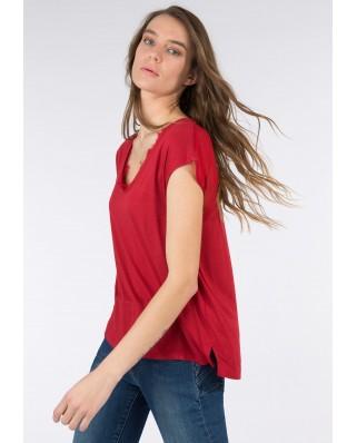 kokodol.com - Camiseta Eunice rojo